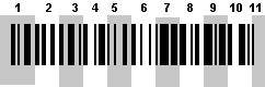 Barcode decoded